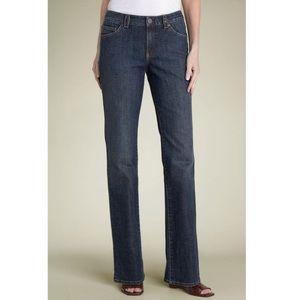 Distressed Black High Waist Straight Leg Jeans